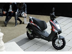 Daelim offers a scooter range varying from a 50cc to a 125cc model