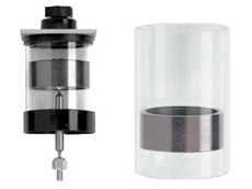 Airpot adaptable piston and cylinder sets