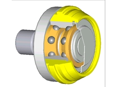 Barden Hybrid can seaming roll bearings