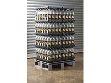 CHEP's display pallet with beverage trays