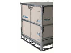 CHEPBox Bulk Dry food cubic containers are ideal for transportation of dry goods