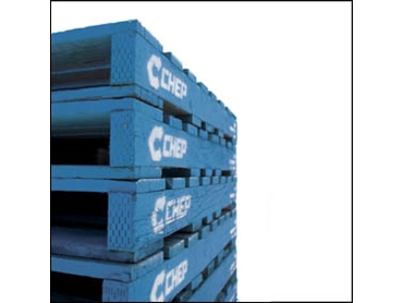 CHEP Plastic and Hardwood Pallets for import and export applications