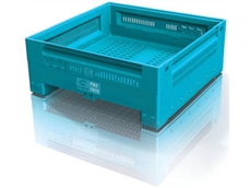 FB3 plastic folding hat bins are long lasting and easy to erect