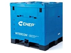 Intercon cubic containers are suitable for the transporation of dry and liquid food goods