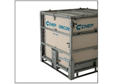 Versatile cubic containers for transport and hazardous goods