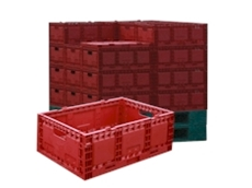 Returnable plastic containers for hire from CEVA Pallecon