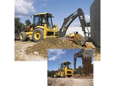 Environmentally friendly backhoe loaders