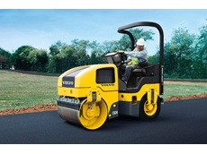 Volvo CR24 asphalt compactors combine two modern compaction methods
