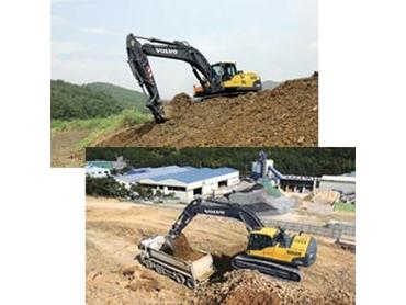 Dependable excavating equipment