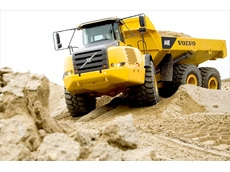 Volvo's articulated haulers, available from CJD Equipment