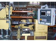 Leifeld spinning machine retrofitted with Siemens Sinumerik 840D CNC Controller