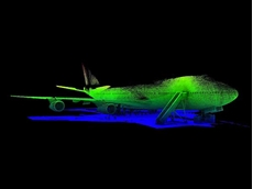 The laser mapping technology can be used to create real-to-life simulations for training and quality control