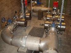 Berson medium pressure ultraviolet disinfection for effluent irrigation scheme
