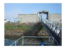 UV disinfection equipment for Goulburn's effluent irrigation