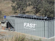 Compact FAST installations include this one at Cadia mine, NSW