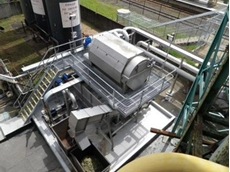 Golden Circle's new high efficiency rotary screen from CST Wastewater Solutions