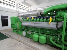 Green energy generators powered by biogas (methane) from wastewater, transforming a problem to a profit