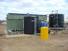 On-site effluent treatment plant