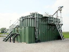 Titan MBR wastewater treatment system