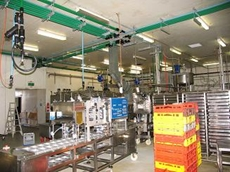 CalAir piping system in Fortune Soy Manufacturing