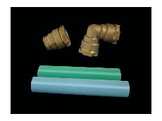 Halogen-free FRAS pressure pipes