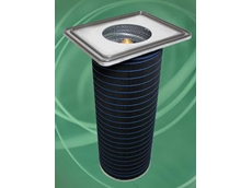 HemiPleat FR Carbon dust collector filter