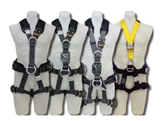The new range of fall protection harnesses