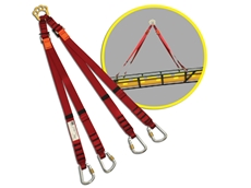 DBI-SALA Rollgliss Technical rescue bridles