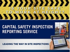 Capital Safety's new site inspection reporting service