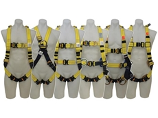 Capital Safety's fall protection body harness provides a series of enhanced features