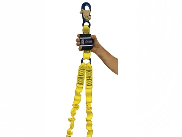 Lanyards for height safety in the workplace