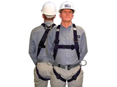 Harnesses fitted with confined space rescue loops.
