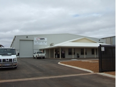 The new CAPS Kalgoorlie Branch is located in Kakarra Road, West Kalgoorlie