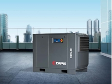 CAPS electric rotary screw compressors saving 30% on servicing