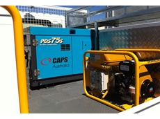 Caps Australia supplies portable air compressors for truck-mounting