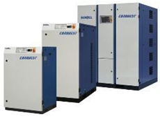 Conquest scroll oil free air compressors