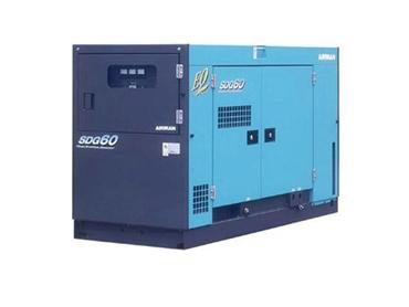 Airman portable diesel generator