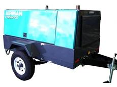 PDS400S-6B1-T Airman towable diesel compressor