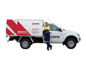 CAPS service technicians, available nationwide