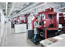 Production line with Kern Evo coordinate milling machine for parts