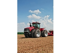 The all new Steiger 400 will take the place of two tractors when it's put to work ploughing and sowing on Danny Pinnuck's 800-hecatre Riverina property