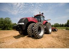 Case IH new Magnum tractor