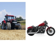 Purchase a Puma Long Wheel Base CVT tractor before 31 March 2012 and receive a free Harley Davidson Sportster