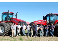 Case IH dealership Ramsey Brothers showcased the all new Magnum 260 and Steiger 500 at this year's Ride and Drive days, with growers coming from near and far to take a first-hand look at the all new range