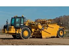 Cat launches new wheel tractor scraper