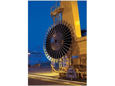 Efficient Motorised Cable Reels by Cavotec engineered intelligence