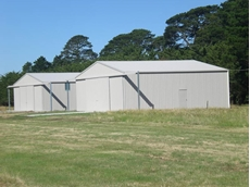 Aircraft Hangars by Central Vic Sheds