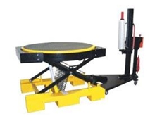 Motorised shrink wrapper