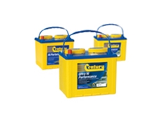 Century Yuasa Batteries offering the Performance Series of batteries for forklifts that run on petrol, diesel or gas.