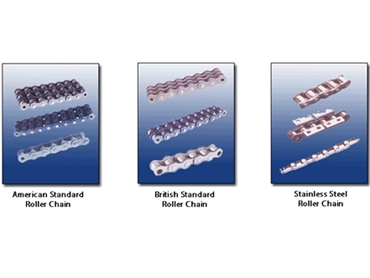 NSI and BS Standard Roller Chain for standard to heavy duty requirements